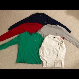 Ralph Lauren Polo Boys Size 10-12 Long Sleeves